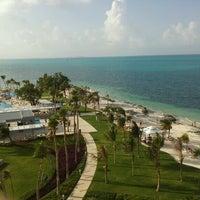 Photo taken at RIU Caribe by Aletz C. on 8/31/2012