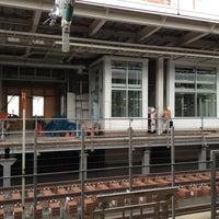 Photo taken at JR 新大阪駅 25-26番線ホーム by Mike C. on 8/28/2012