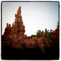Photo taken at Big Thunder Mountain Railroad by Christine A. on 5/25/2012