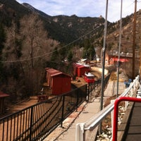 Photo taken at Pikes Peak Cog Railway by Tony H. on 3/14/2012