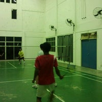 Photo taken at Arena Badminton, ST JOHN by Alam ramadan S. on 2/19/2012