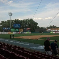 Photo taken at Fifth Third Bank Ballpark by Ryan on 8/25/2012