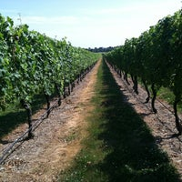 Photo taken at Newport Vineyards by Bev P. on 7/14/2012