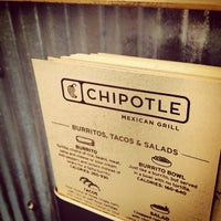 Photo taken at Chipotle Mexican Grill by Matthew R. on 2/29/2012