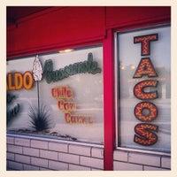 Photo taken at Tio Dan's Puffy Tacos by Jon E. on 5/4/2012