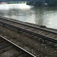 Photo taken at Metro North - Marble Hill Train Station by Joseph S. on 6/17/2012