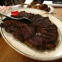 Photo taken at Peter Luger Steak House by Daniel A. on 4/9/2012
