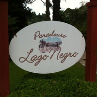 Photo taken at Lago Negro by Luiz R. on 5/2/2012
