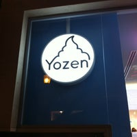 Photo taken at Yozen Pure Greek Frozen Yogurt by Angelo C. on 4/29/2012