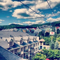 Photo taken at Station Mont Tremblant Resort by Renata Andrade on 7/29/2012