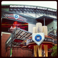 Photo taken at Chase Field by Adan H. on 4/25/2012