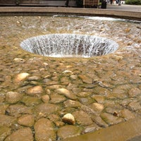 Photo taken at UCLA Inverted Fountain by David S. on 7/5/2012