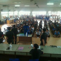 Photo taken at หอประชุมอำเภอชะอวด by Chanin @. on 4/8/2012