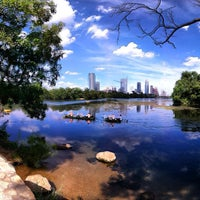 Photo taken at Lady Bird Lake Trail by Will F. on 6/21/2012