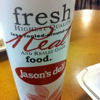 Photo taken at Jason's Deli by Kyle B. on 7/24/2012