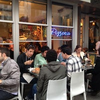 Photo taken at Pizzeria Delfina by Cathy C. on 7/2/2012