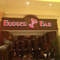 Photo taken at Burger Bar by Tina P. on 2/11/2012
