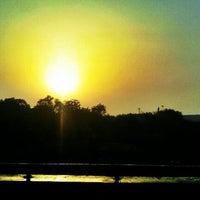 Photo taken at Tughlaqabad Metro Station by Nitish K. on 5/3/2012