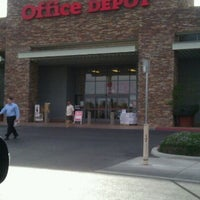 Photo taken at Office Depot by Michael B. on 3/5/2012