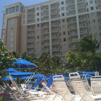 Photo taken at Marriott's Aruba Surf Club by Nicholas C. on 7/28/2012