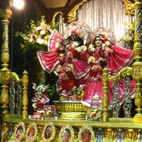 Photo taken at Radha Govinda Mandir by Shruti K. on 7/29/2012