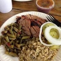 Photo taken at Gatlin's BBQ by Michelle on 8/25/2012