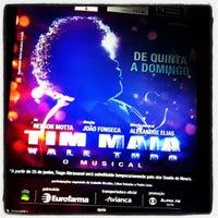 Photo taken at Teatro Procópio Ferreira by Rodrigo A. on 8/18/2012
