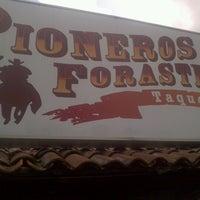 Photo taken at Taqueria Los Pioneros by Chuck O. on 7/15/2012
