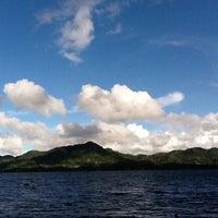 Photo taken at Danau Tondano by Irawati W. on 4/30/2012