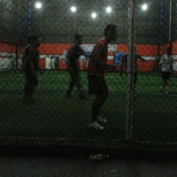 Photo taken at Score Futsal Purbalingga by Genat P. on 4/4/2012