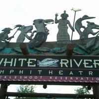 Photo taken at White River Amphitheatre by Damond N. on 6/14/2012