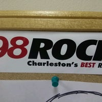 Photo taken at My 98 Rock by Paul S. on 3/28/2012
