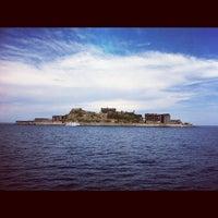 Photo taken at Hashima / Gunkanjima Island by Kazumi K. on 8/17/2012