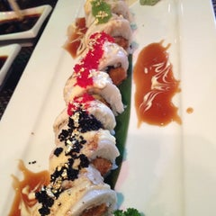 Photo taken at Big Tuna Sushi Restaurant by Anita at One Shot Boards on 8/1/2012