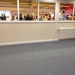 Photo taken at Lancashire Health & Racquets Esporta Leisure Centre by Pietro G. on 5/10/2012