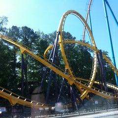 Photo taken at Six Flags Over Georgia by Traci R. on 4/28/2012