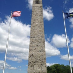 Photo taken at Bennington Monument by Louis S. on 7/25/2012