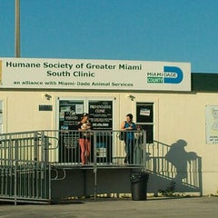Photo taken at Humane Society - Greater Miami by Hector G. on 5/26/2012