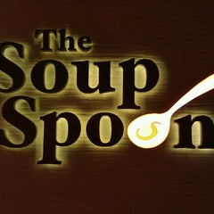 Photo taken at The Soup Spoon by Stephanie L. on 8/2/2012
