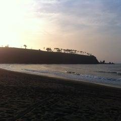 Photo taken at Playa de Barayo by Ser N. on 8/8/2012