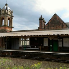 Photo taken at Bury St Edmunds Railway Station (BSE) by Jamie A. on 6/24/2012