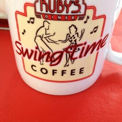 Photo taken at Ruby's Diner by April C. on 2/24/2012
