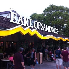 Photo taken at Earl of Sandwich by Staci S. on 3/24/2012