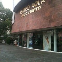 Photo taken at Teatro Julio Prieto by Pathy on 8/22/2012