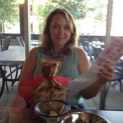 Photo taken at Blue Mesa Grill by Shara K. on 6/20/2012