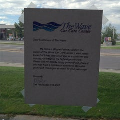 Photo taken at The Wave car care center by Michael S. on 9/1/2012