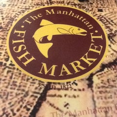 Photo taken at The Manhattan Fish Market by Corry T. on 5/1/2012