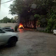 Photo taken at Rua Alexandre Benois by Willian G. on 6/20/2012