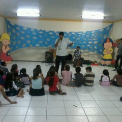 Photo taken at ICEM - Igreja Cristã Evangélica de Messejana by Samuel J. on 6/17/2012