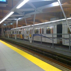 Photo taken at Brentwood Town Centre SkyTrain Station by Wendy F. on 2/16/2012